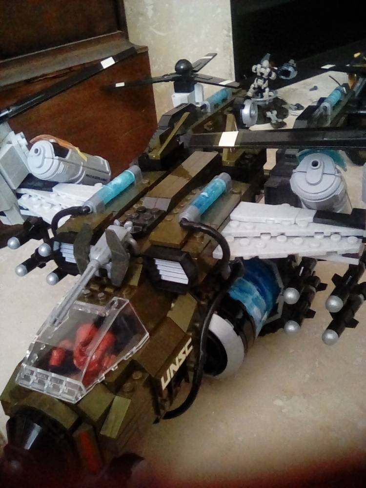 Image of: Modified UNSC Frostraven