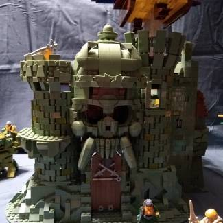 Image of: MOTU Castle Grayskull