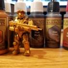 Halo Mega construx figures + The Army Painter=awesome customs part 4