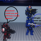 Image of: Halo Reach funny moments Mission : Winter Contingency part 1