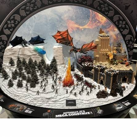 Image of: SDCC Preview: Game of Thrones Display