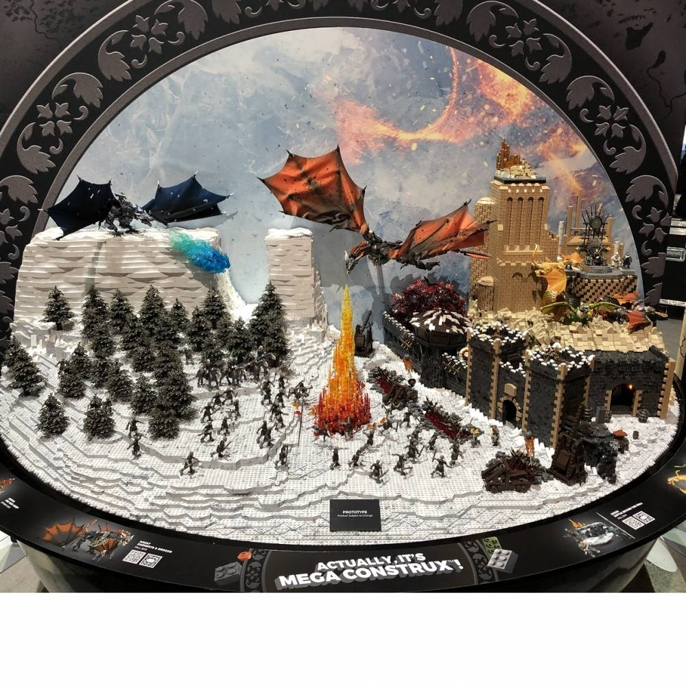 SDCC Preview: Game of Thrones Display
