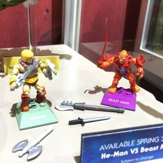 Image of: SDCC Preview: He-Man  vs Beast Man MCX Heroes Double Pack