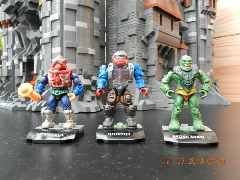 Image of: Masters of the universe - custom figures so far - the good guys