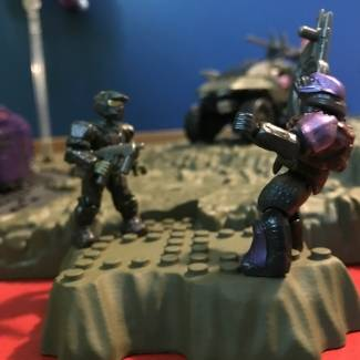 "Image of: Diorama 1-A ""Turned Tables"" !!!!"