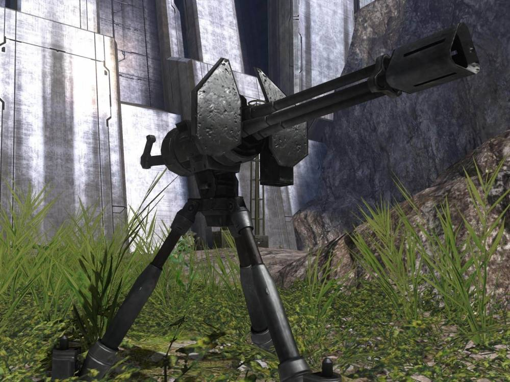 Image of: Halo 3 Styled Chain Gun Turret