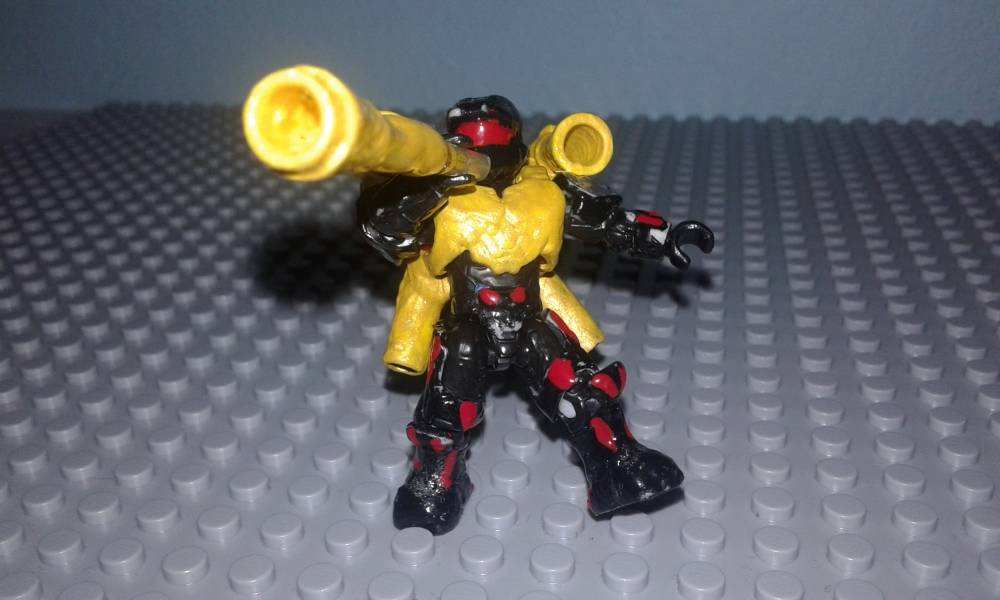 Image of: DOOT jet pack and trumpet
