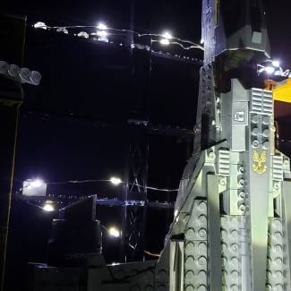 Image of: SABRE LAUNCH FACILITY  LIGHT UP