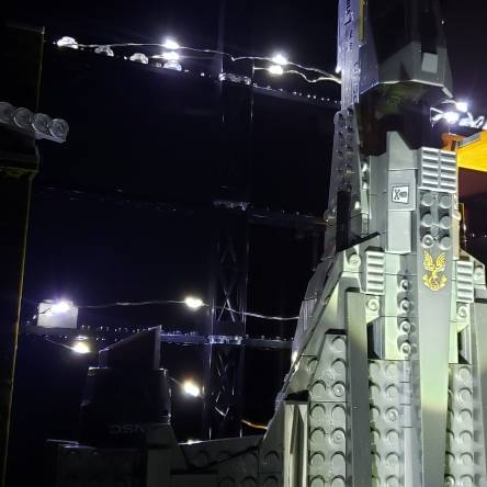 SABRE LAUNCH FACILITY  LIGHT UP