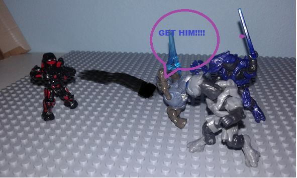 Image of: Halo Reach funny moments On the tip of the spear