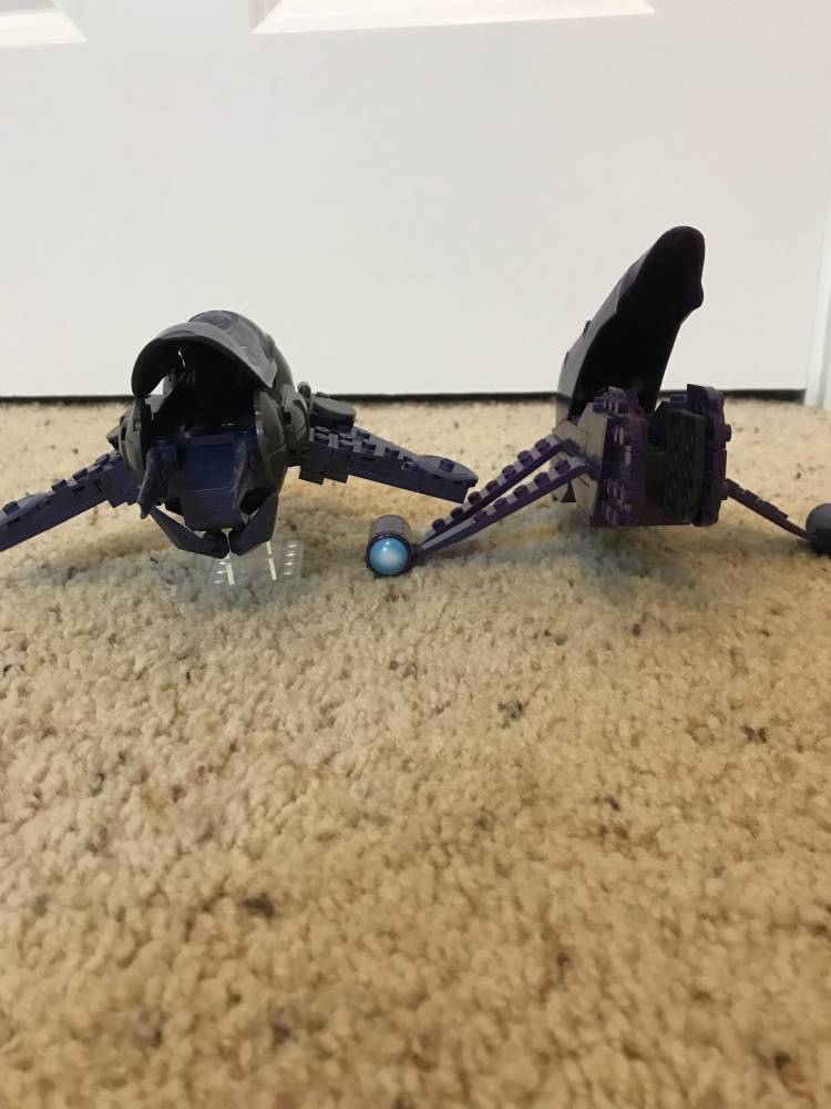 Image of: Old and New Banshee (stand-alone sets compared)