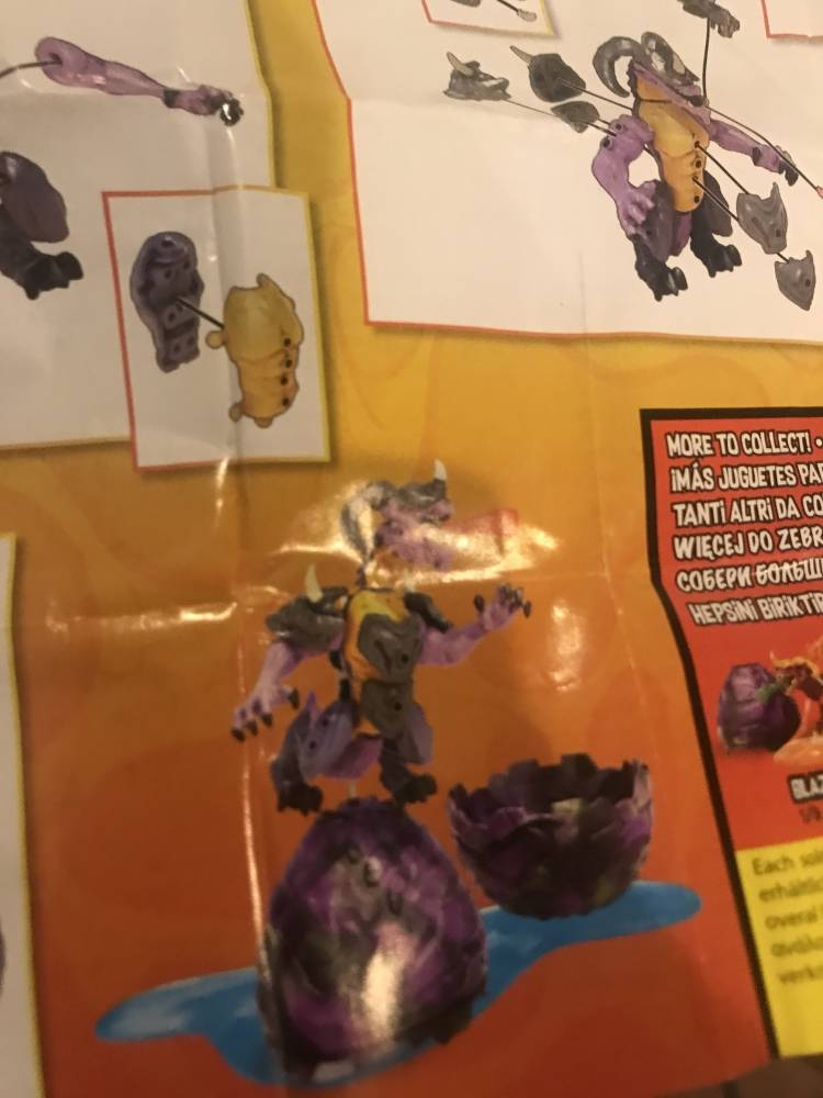 Image of: I FOUND SERIES 3 BREAKOUT BEAST IN STORES