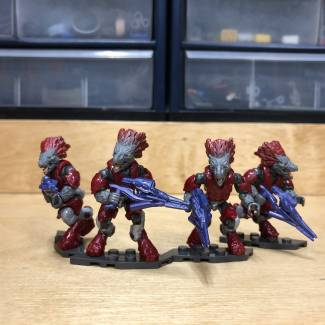 Closer Look: 2020 Halo Skirmishers