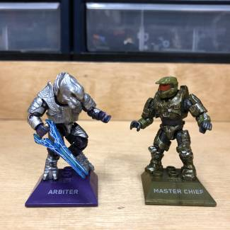 Closer Look: Master Chief vs Arbiter