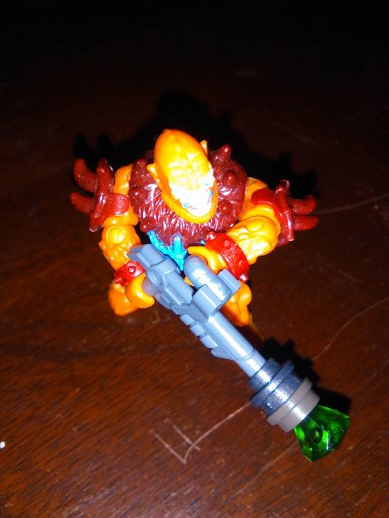 Image of: Beastman with plasma caster