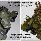 #Tank build off! UNSC M850 Grizzly MBT