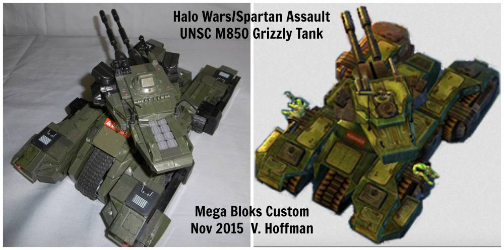 Image of: #Tank build off! UNSC M850 Grizzly MBT