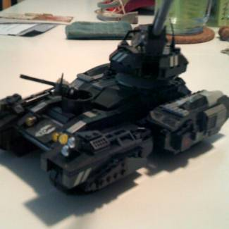 Image of: halo reach style tank