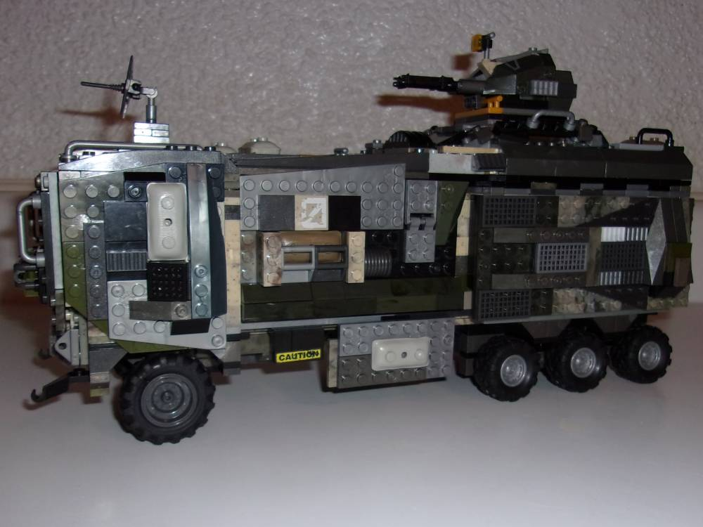 "UNSC M-987 ""Mule"" Heavy Personnel Carrier WIP 2 (Build Finished)"