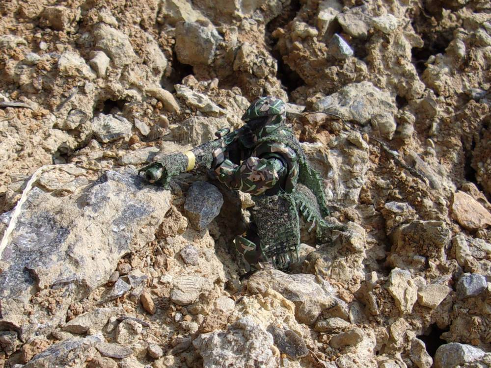 Image of: Joint Task Force Sierra: Ranger Battalion ODST Recon Specialist
