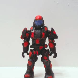 Image of: Repaint red and black ODST