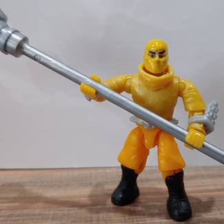 Image of: Yellow Ram Staff ninja