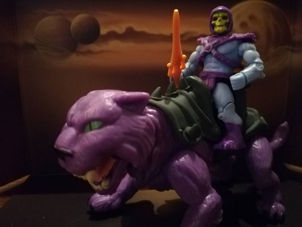 Image of: Battle Cat and Panthor