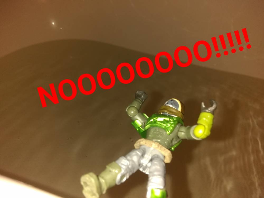 Image of: Tub of DOOM!