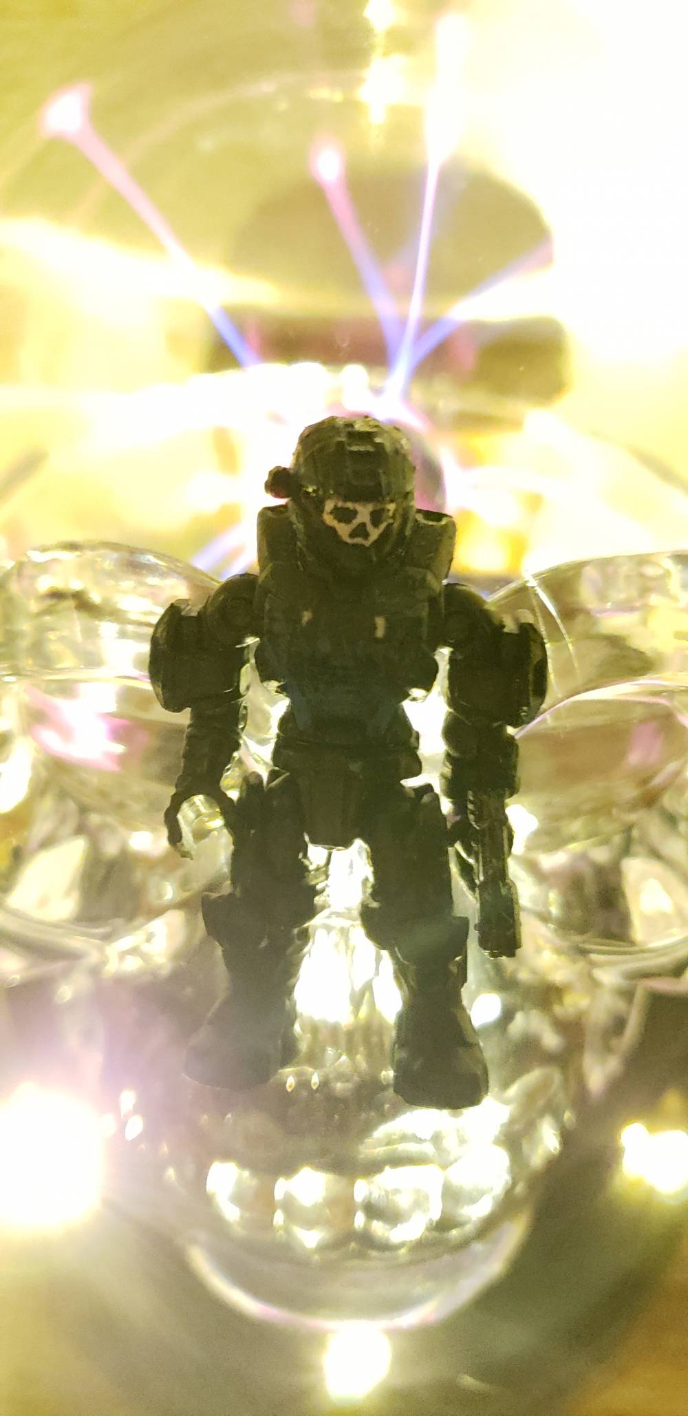 Image of: Haunted spartan transsentient
