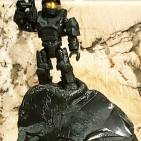 Image of: Obsidian Spartan II Tribute statue