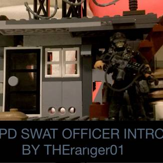 Image of: LAPD S.W.A.T figure intro stop motion video