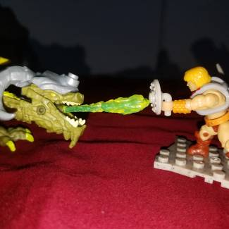 Image of: He-man vs torchwing