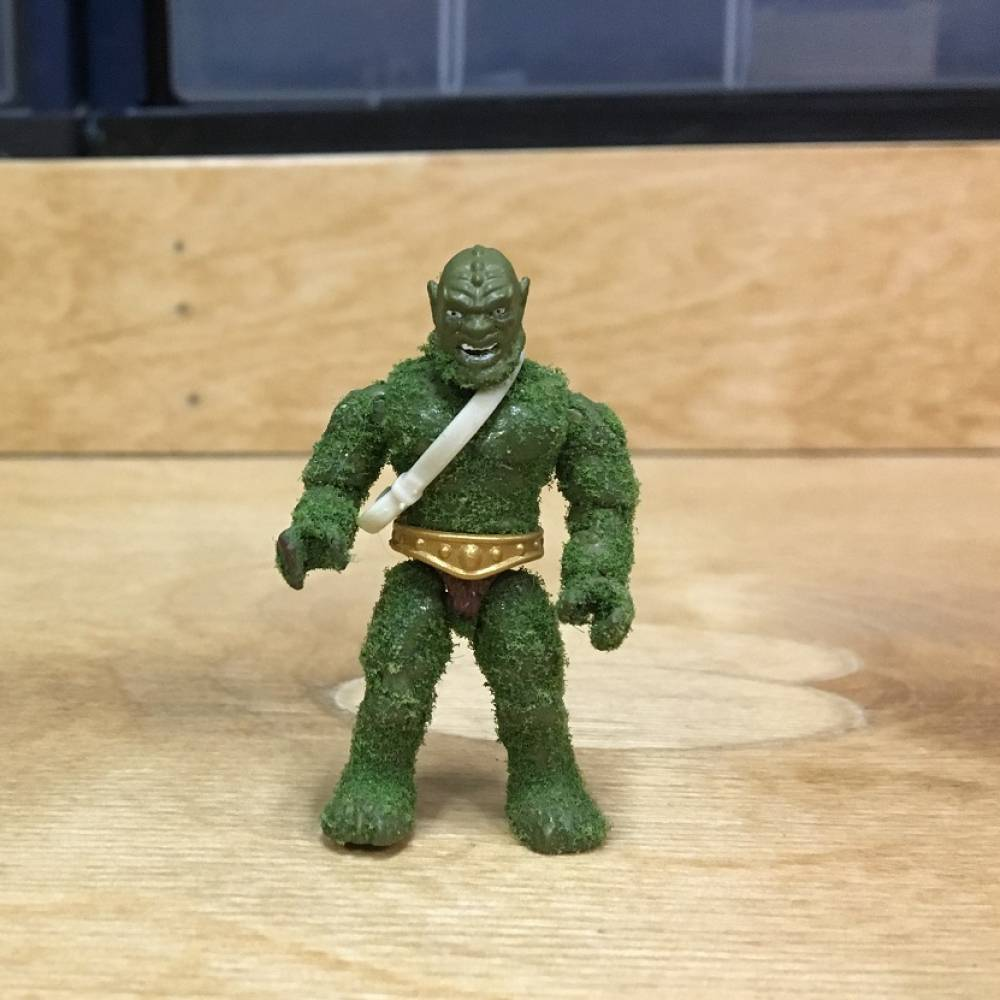Image of: Behind the Scenes: Moss Man Prototype