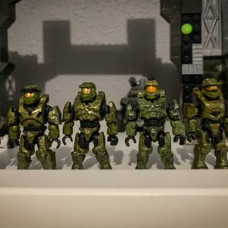 Image of: Master Chief Armor Evolution