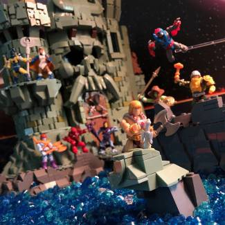 Image of: Battles at Grayskull