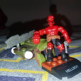 Image of: Q & A ft Hellboy