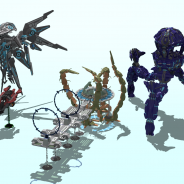 All my Halo Models without banished Scarab
