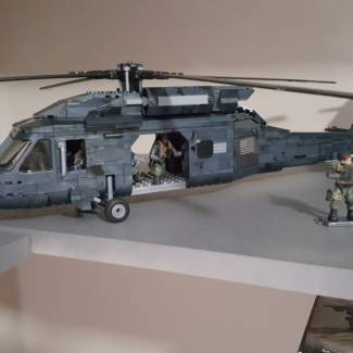 Image of: Ghosts Tactical Helicopter Mod