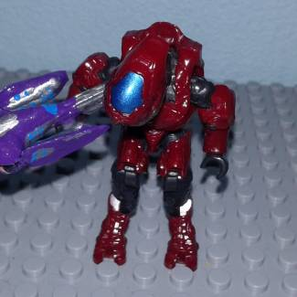 Image of: Halo 5 plasma caster custom