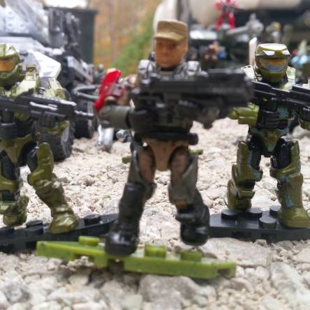 Image of: Small UNSC force