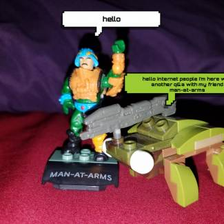 Image of: Q & A ft Man-at-arms