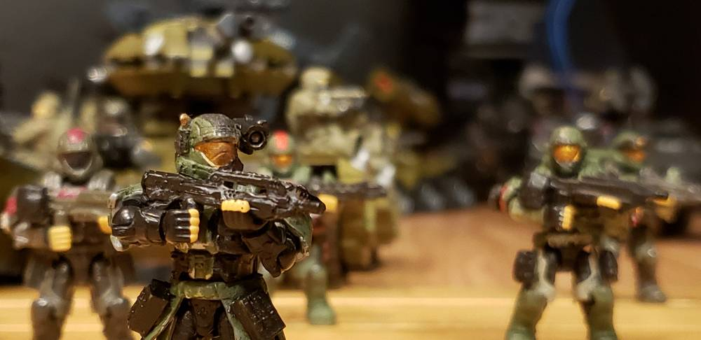 Image of: Heavy armor on the move with infantry support
