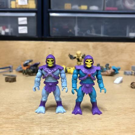 MCX Heroes Masters of the Universe Comparisons