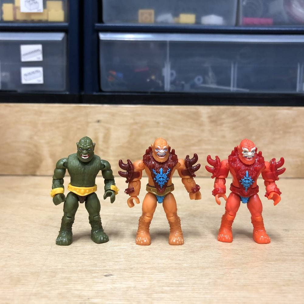 Image of: MCX Heroes Masters of the Universe Comparisons