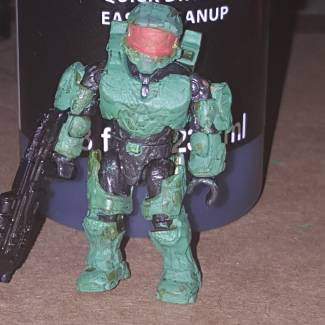 Image of: Battle Damaged Master Chief (Painted)