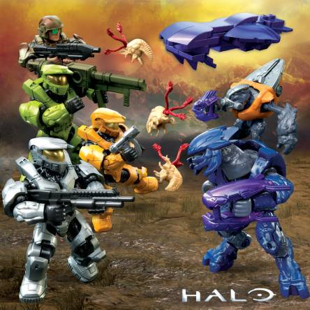 Image of: 2020 Preview: Halo Micro Action Figure Blind Bags