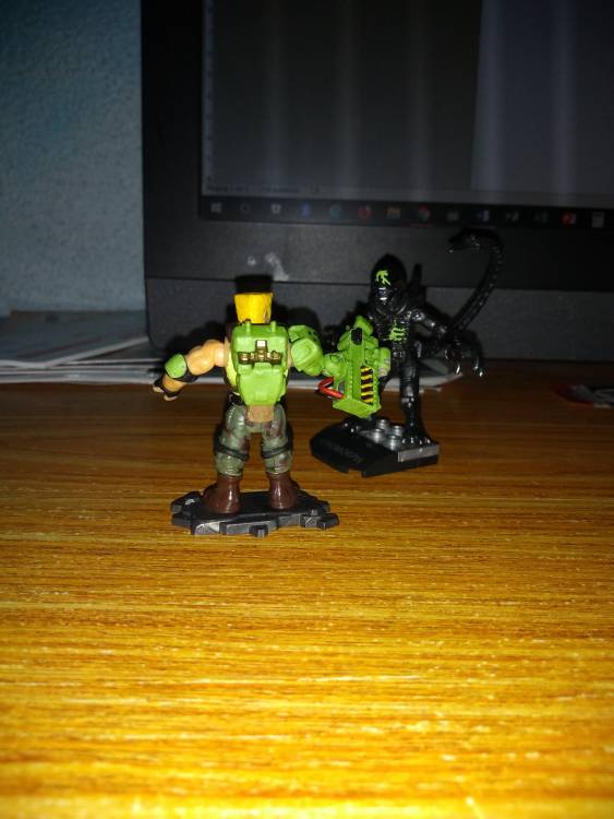 Image of: Dutch from AvP arcade game