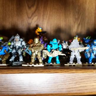 Image of: Halo Heroes series 11 and 10th anniversary blind bags haul!
