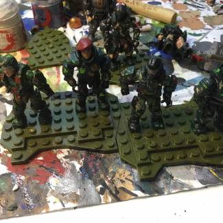 Image of: W.I.P. 405th Marine Squad + Kyle Lyon
