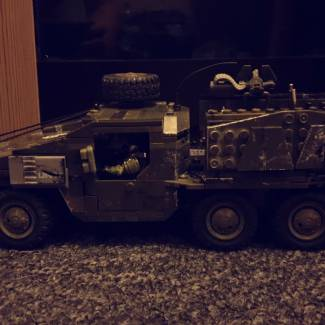 Image of: UNSC MT-88TC Troop Transporter (Part 2)